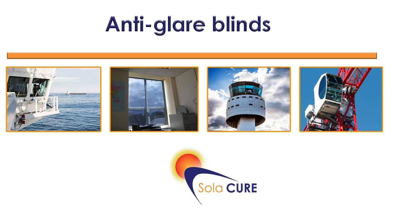 anti glare blinds for office anti glare binds for cranes anti glare blinds for aviation towers
