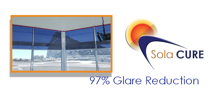 Air traffic control Anti-Glare Blinds